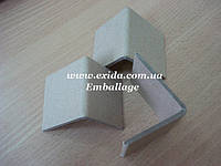 Уголок картонный защитный упаковочный 45х45