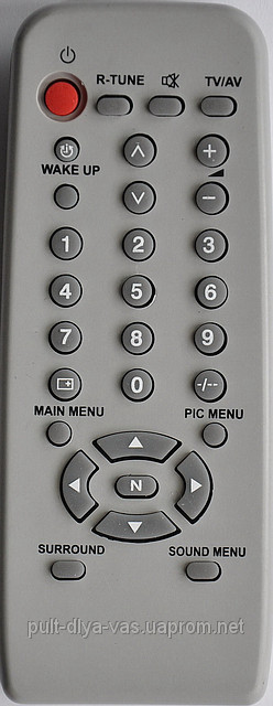 Пульт к телевизору Panasonic. Модель TNQ4G0402