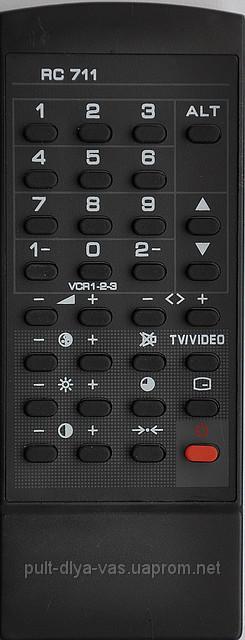 Пульт на телевизор  SANYO. Модель RC-711