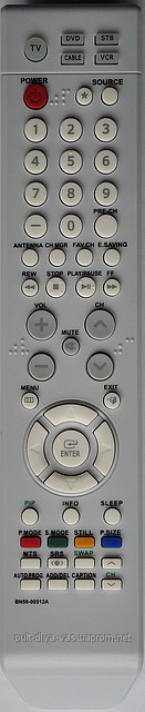 Пульт для телевизора SAMSUNG Модель BN59-00512A