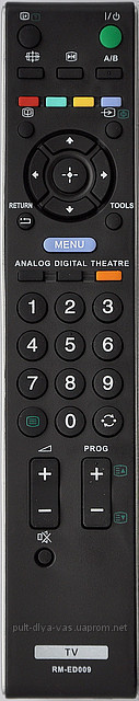 Пульт для телевизора SONY. Модель RM-ED009