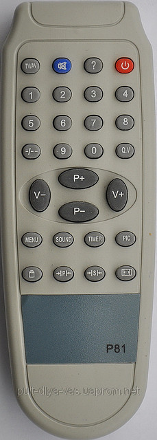 Пульт от телевизора PATRIOT. Модель P-81