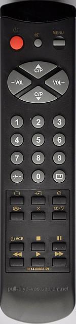 Пульт к телевизору  SAMSUNG Модель 3F14-00038-091