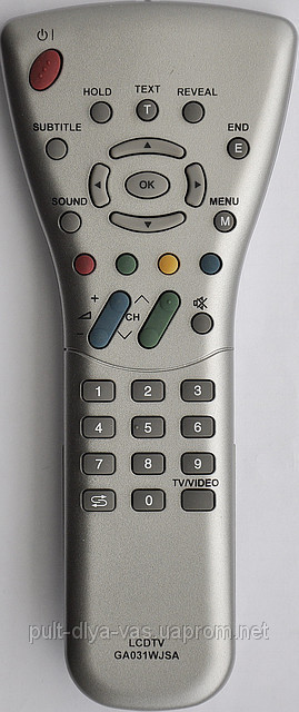 Пульт от телевизора SHARP. Модель GA031WJSA