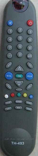 Пульт для телевизора BEKO, RAINFORD. Модель TH-493
