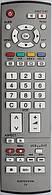 Пульт для телевизора Panasonic. Модель EUR-7651030
