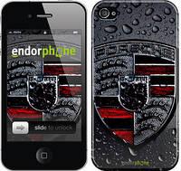 """Чехол на iPhone 4 Porsche 2 """"978c-15"""""""