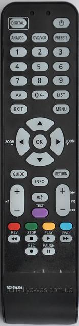 Пульт для телевизора Thomson /TCL  Модель  RC1994301