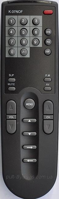 Пульт на телевизор  ORION. Модель K-37NOF