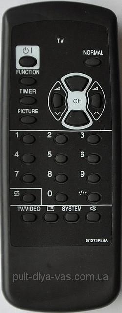 Пульт на телевизор SHARP. Модель G1273PESA