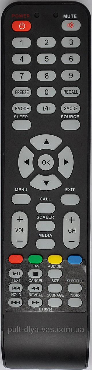 Пульт для телевизора Shivaki , Akai  Модель BT0534, STV-22L6, A3001012