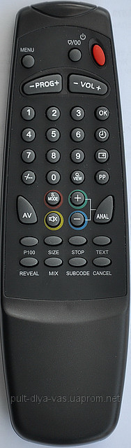 Пульт на телевизор  ERISSON, AKIRA. Модель FHS-085