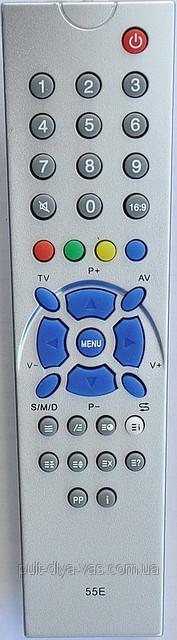 Пульт для телевизора RAINFORD. Модель 55E