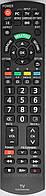 Пульт для телевизора Panasonic. Модель N2QAYB000399