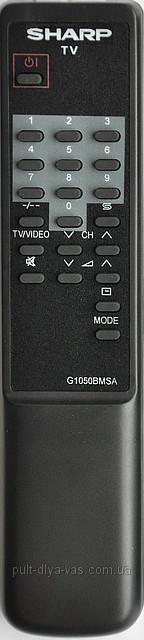 Пульт на телевизор SHARP. Модель G1050BMSA