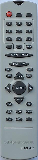 Пульт к телевизору DIGITAL. Модель K18F-C7
