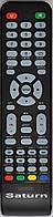 Пульт от телевизора SATURN TV  LED 242, LED 19A