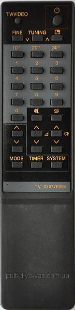 Пульт на телевизор SHARP. Модель G1077BMSA