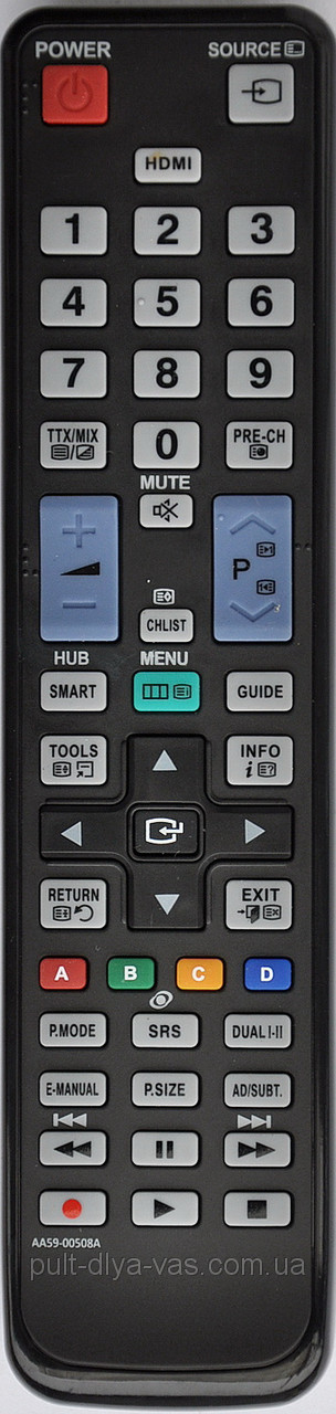 Пульт на телевизор  SAMSUNG. Модель AA59-00508A