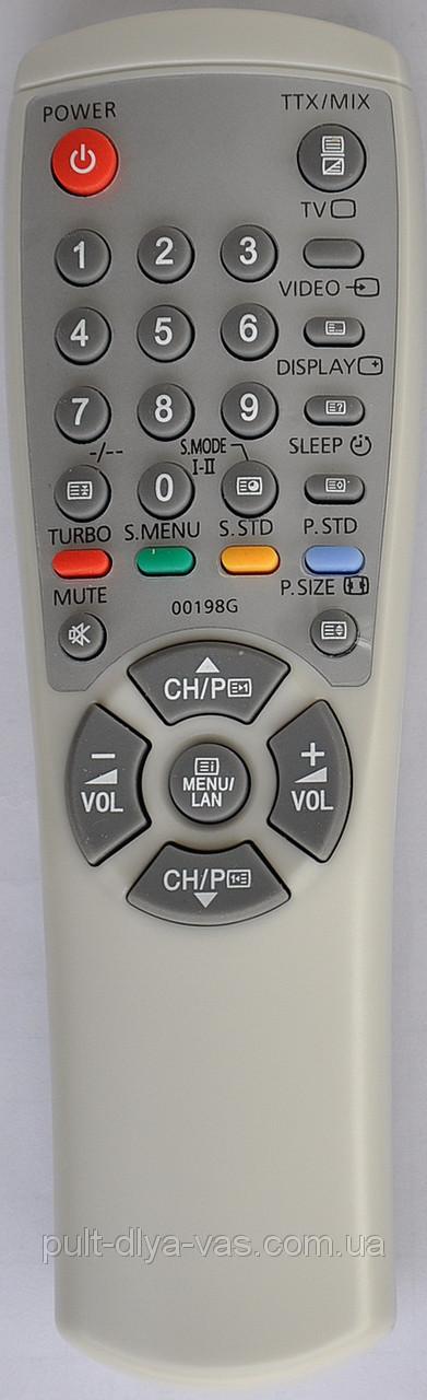 Пульт к телевизору  SAMSUNG Модель 00198G