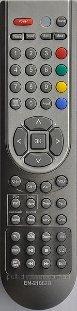 Пульт от телевизора BBK / Rolsen  Модель  EN-21662B / EN-21662R