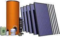 Гелиосистема  ГВС и поддержка  отопления для дома площадью  до 200 кв. м +  сезонный басейн.