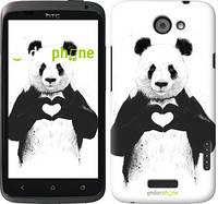 "Чехол на HTC One X All you need is love ""2732c-42"""