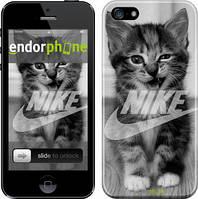 """Чехол на iPhone 5s Спортивный котик """"2715c-21"""""""