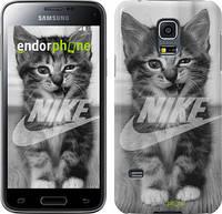 "Чехол на Samsung Galaxy S5 mini G800H Спортивный котик ""2715c-44"""