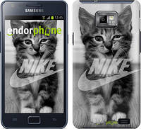 "Чехол на Samsung Galaxy S2 i9100 Спортивный котик ""2715c-14"""