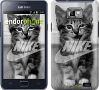 "Чехол на Samsung Galaxy S2 Plus i9105 Спортивный котик ""2715c-71"""