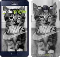 "Чехол на Samsung Galaxy A5 A500H Спортивный котик ""2715c-73"""
