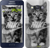 "Чехол на Samsung Galaxy A3 A300H Спортивный котик ""2715c-72"""
