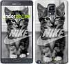 "Чехол на Samsung Galaxy Note 4 N910H Спортивный котик ""2715c-64"""