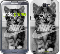 "Чехол на Samsung Galaxy Note 2 N7100 Спортивный котик ""2715c-17"""