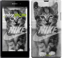 "Чехол на Sony Xperia Z1 C6902 Спортивный котик ""2715c-38"""