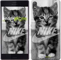 "Чехол на Sony Xperia Z3 dual D6633 Спортивный котик ""2715c-59"""