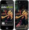 """Чехол на iPhone 5s Шерлок """"438c-21"""""""