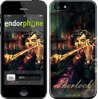 """Чехол на iPhone 5 Шерлок """"438c-18"""""""