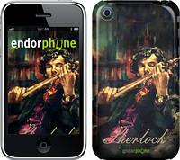 """Чехол на iPhone 3Gs Шерлок """"438c-34"""""""