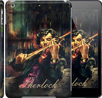 "Чехол на iPad 5 (Air) Шерлок ""438c-26"""