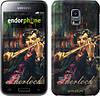 "Чехол на Samsung Galaxy S5 mini G800H Шерлок ""438c-44"""