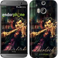 "Чехол на HTC One M8 dual sim Шерлок ""438c-55"""