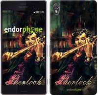 """Чехол на Sony Xperia Z3 D6603 Шерлок """"438c-58"""""""