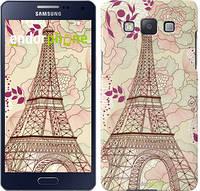 "Чехол на Samsung Galaxy A5 A500H Романтика Парижа ""2064c-73"""