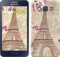 "Чехол на Samsung Galaxy A3 A300H Романтика Парижа ""2064c-72"""