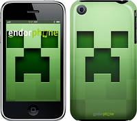 "Чехол на iPhone 3Gs Minecraft 2 ""774c-34"""