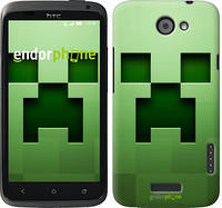 "Чехол на HTC One X+ Minecraft 2 ""774c-69"""