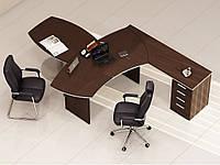 Стол руководителя «Ньюмен 1» (2700*1800*764Н), фото 1