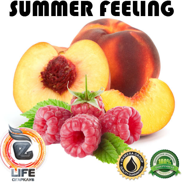 Ароматизатор Inawera SUMMER FEELING (Персик-Малина)